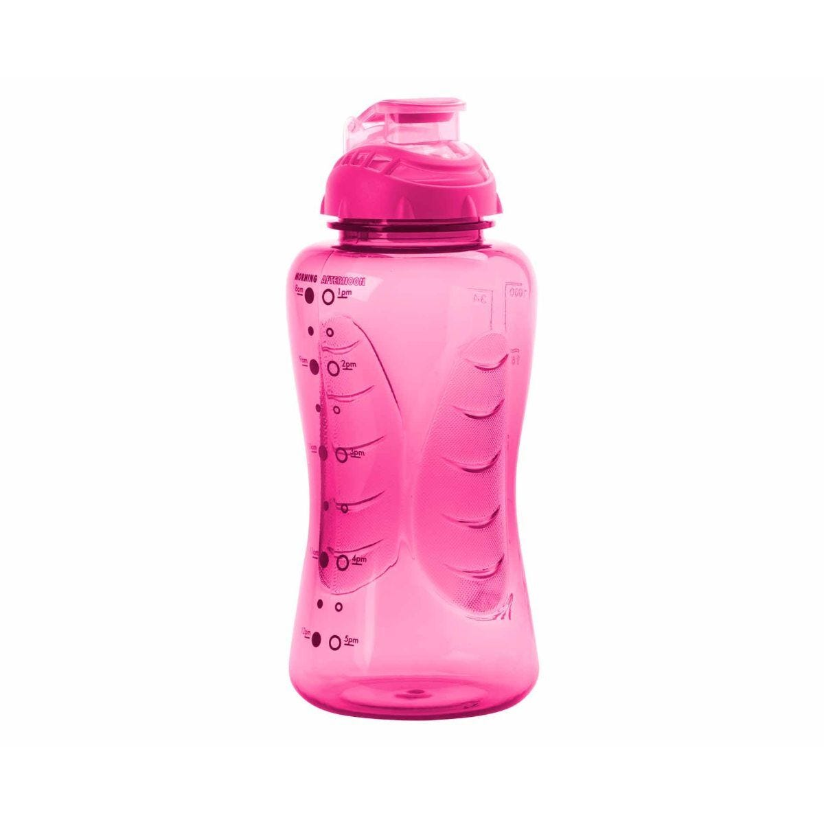 Smash Shaker Bottle with Timings 750ml Pink