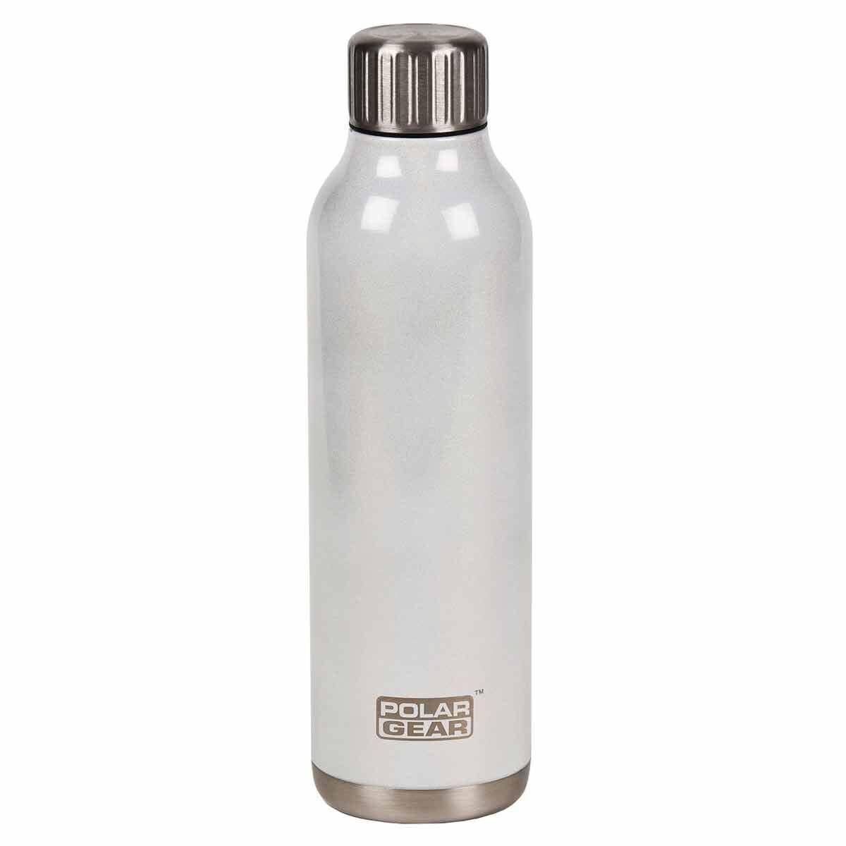 Polar Gear Orion Stainless Steel 500ml Insulated Bottle White