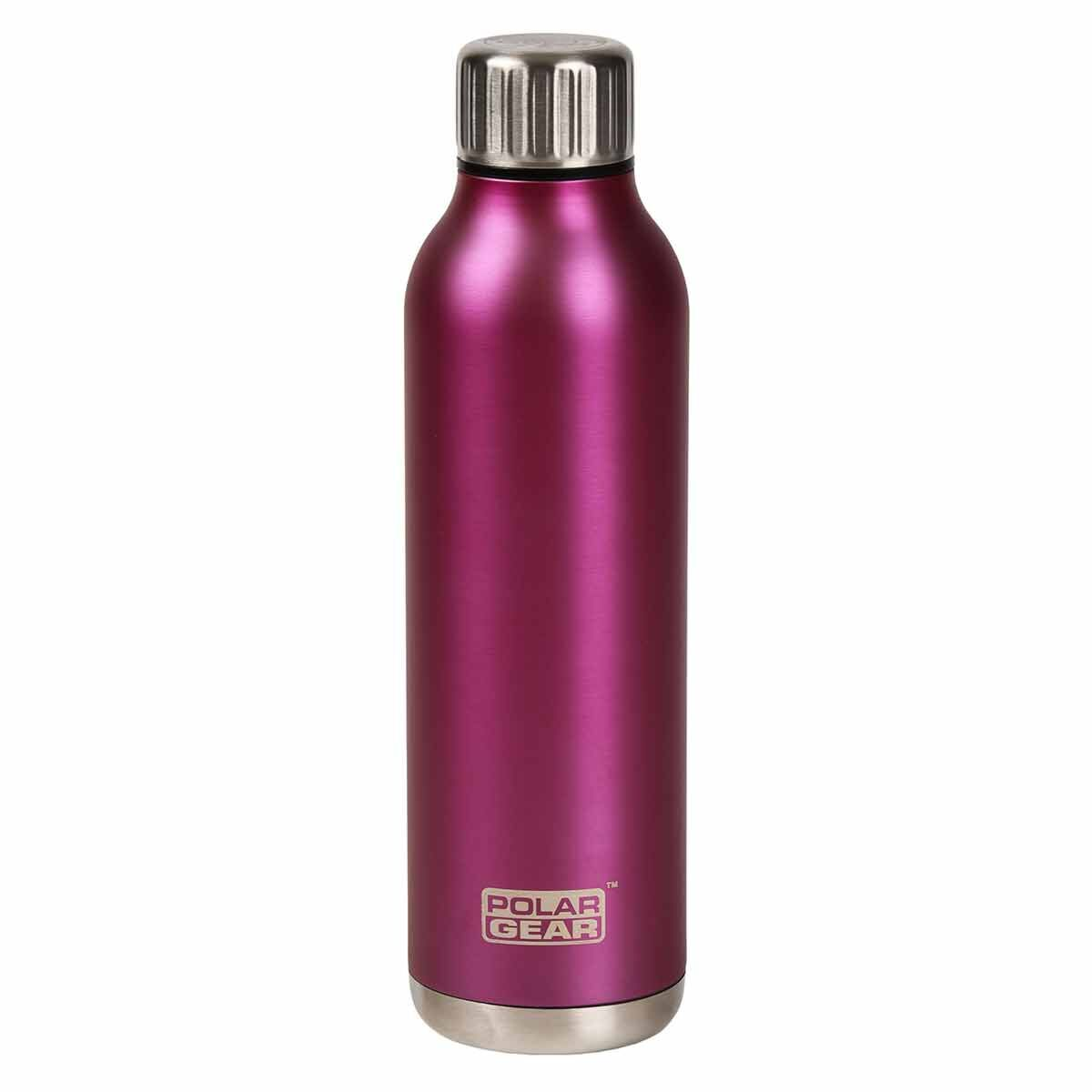 Polar Gear Orion Stainless Steel 500ml Insulated Bottle Berry