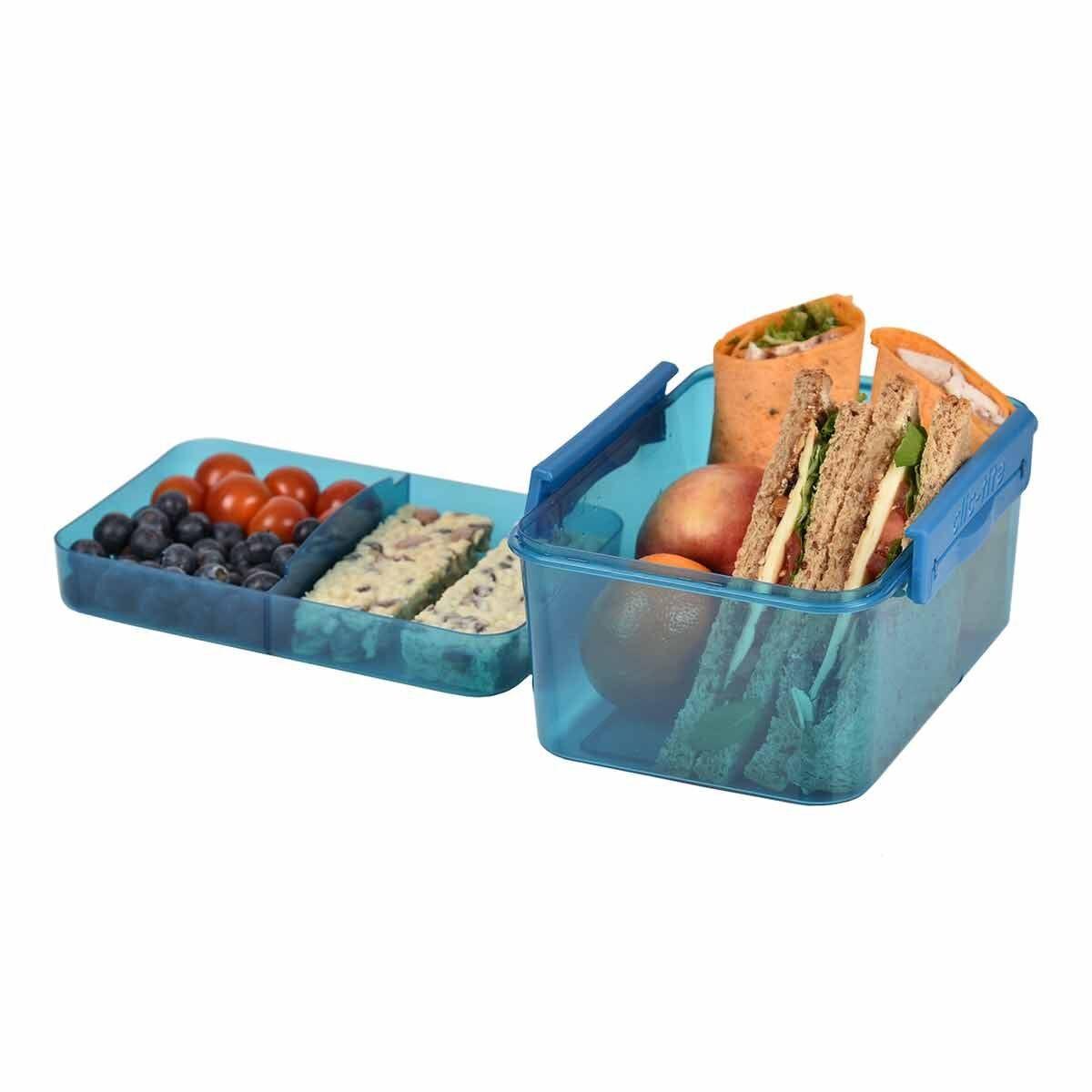 Polar Gear Clic-Tite Double Decker Xl 1.7L Food Container Blue