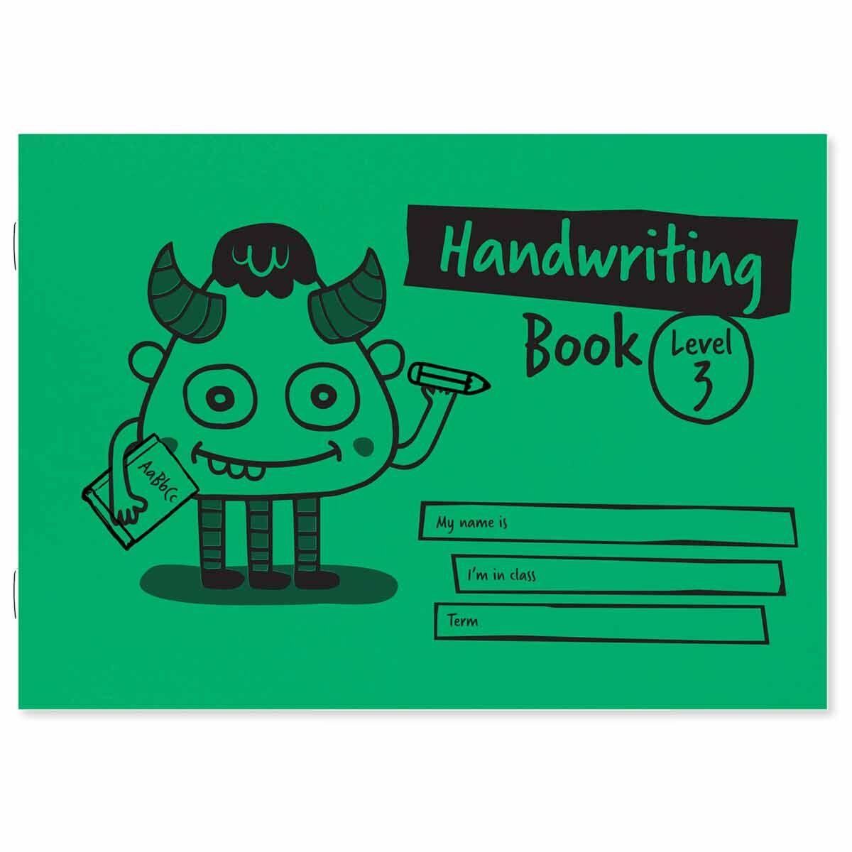 Childrens Level 3 A5 Handwriting Book Landscape