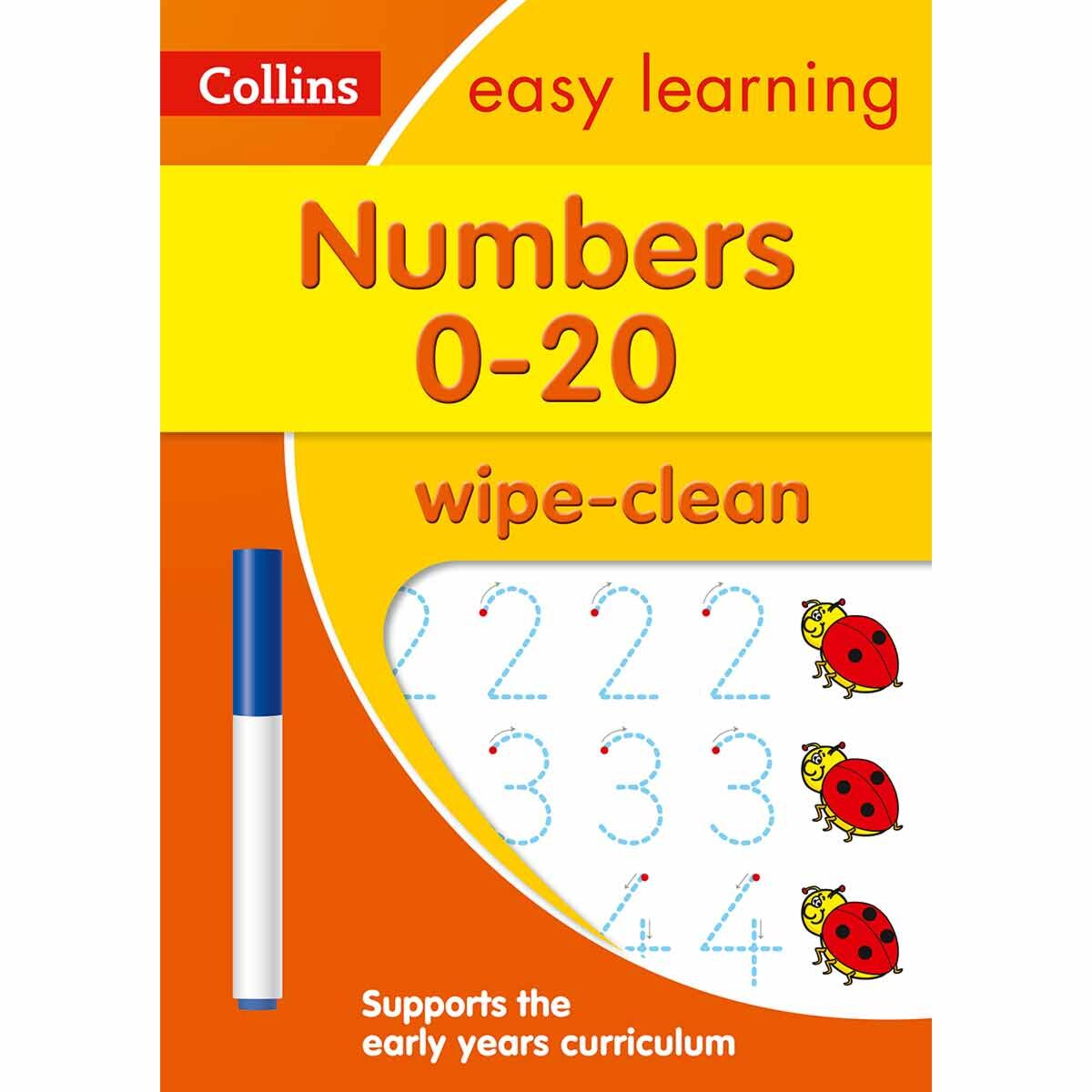 Collins Easy Learning Numbers 0-20
