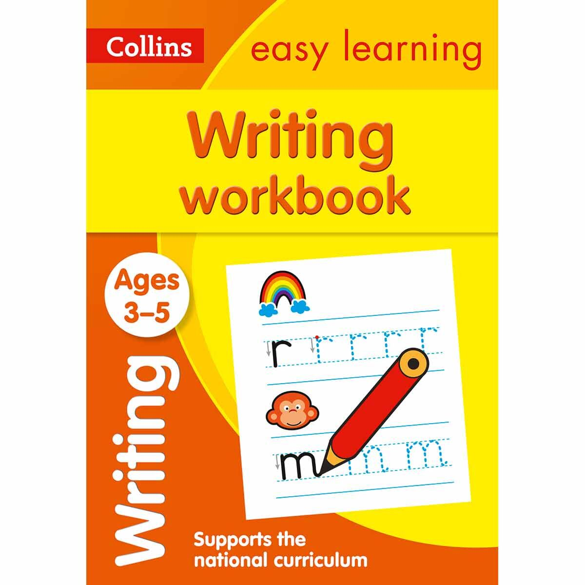 Collins Easy Learning Writing Workbook