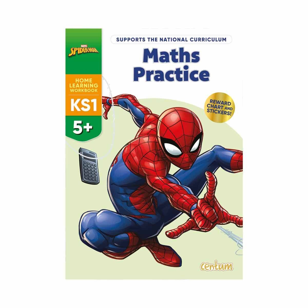 Disney Learning Spiderman Maths Practice 5