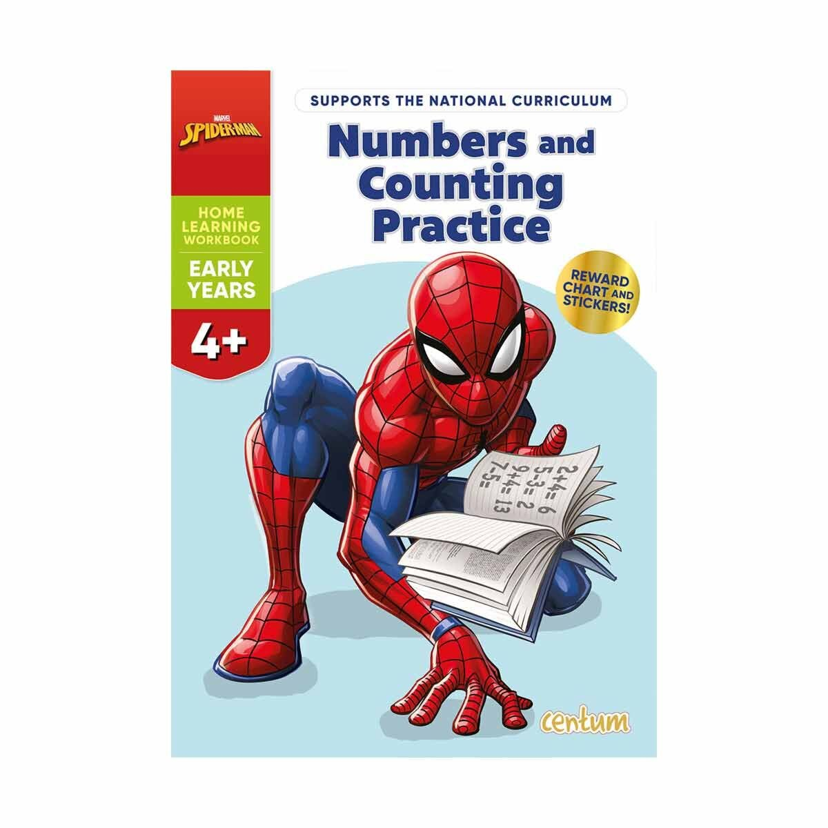 Centum Disney Learning Spiderman Numbers and Counting Practice 4