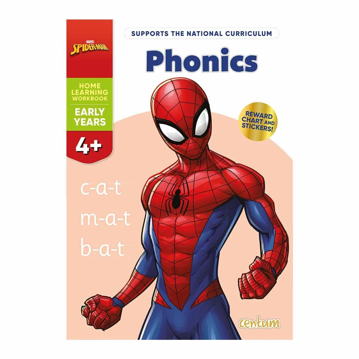 Centum Disney Learning Spiderman Phonics 4