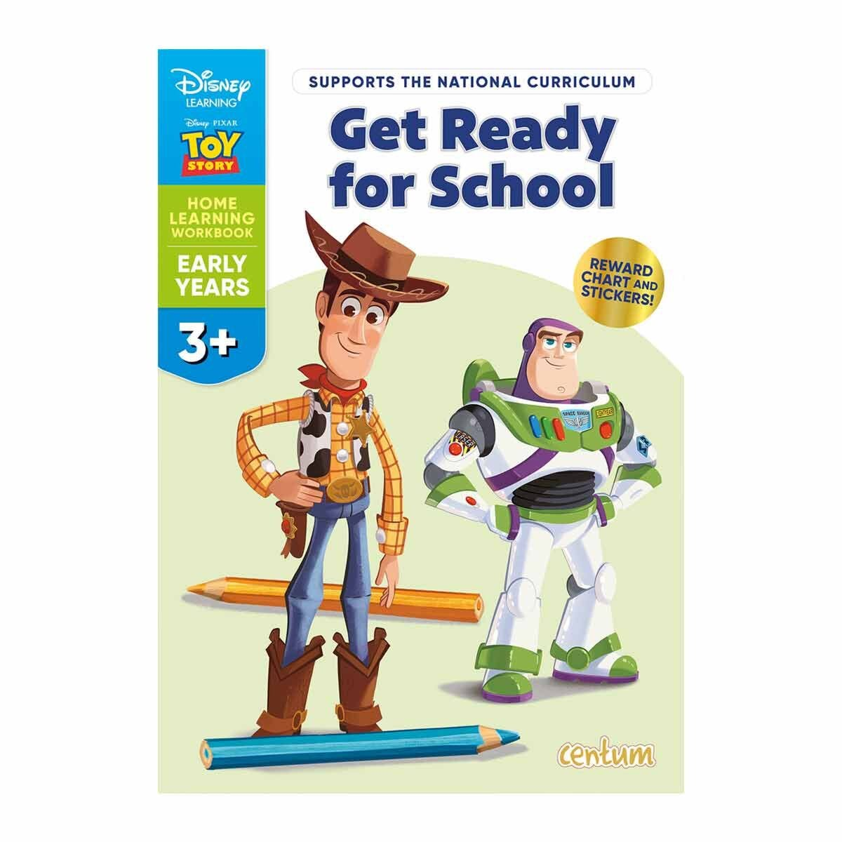 Disney Learning Toy Story Ready for School 3