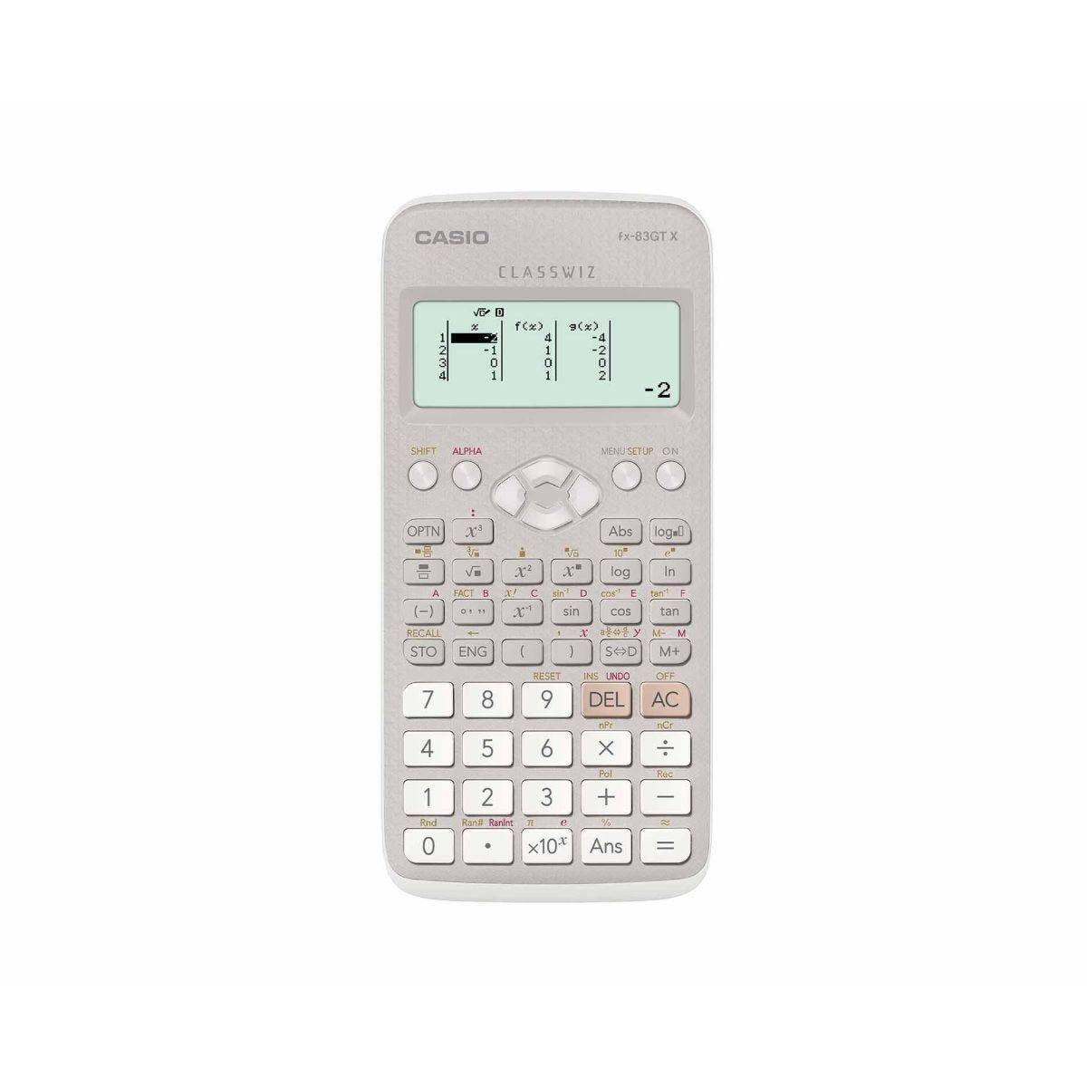 Casio FX-83GTX Calculator Grey