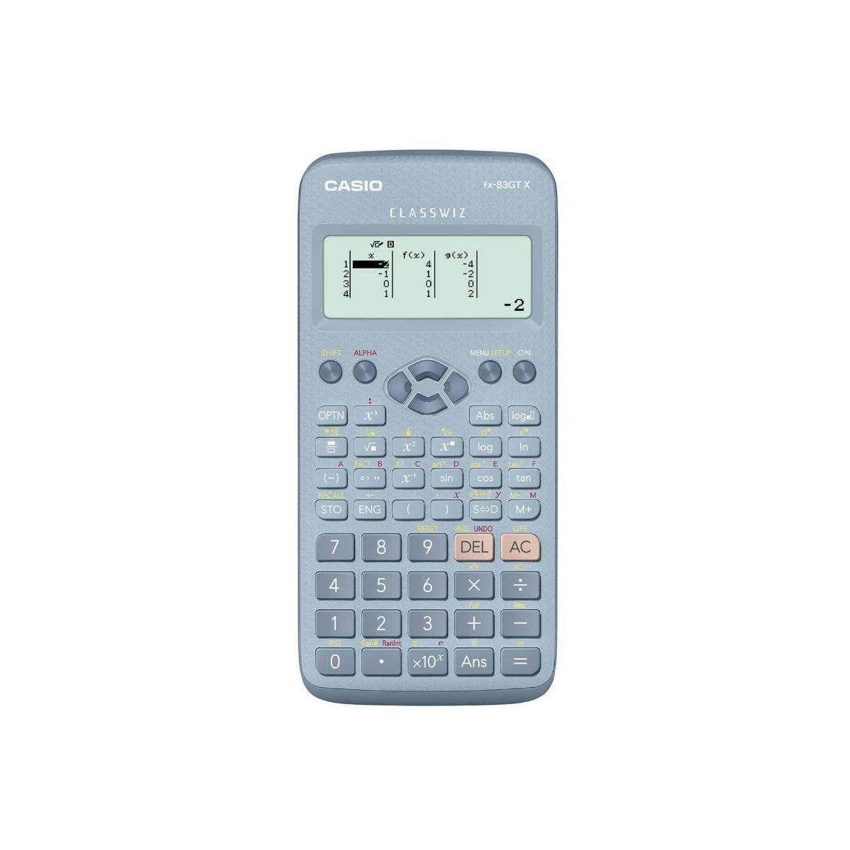 Casio FX-83GTX Calculator Blue