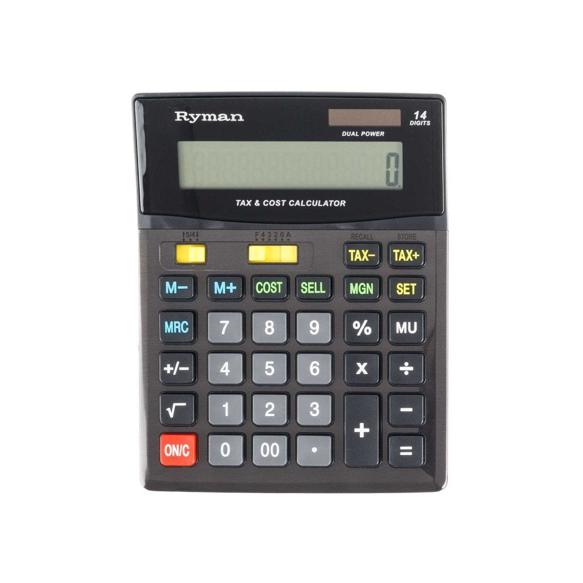 Ryman 14 Digit Calculator DX-14CSMTAX
