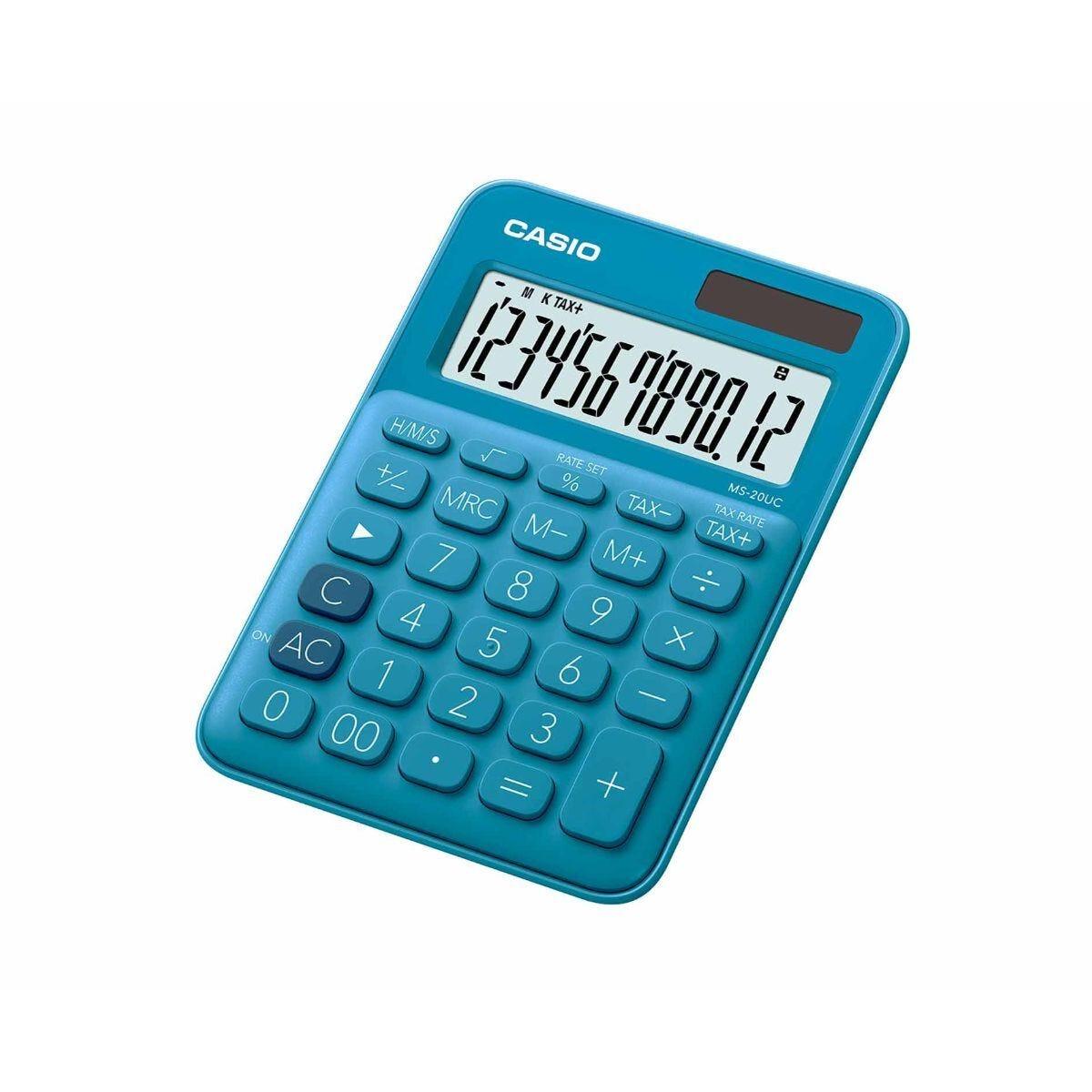 Casio MS20-UC 12 Digit Desk Calculator