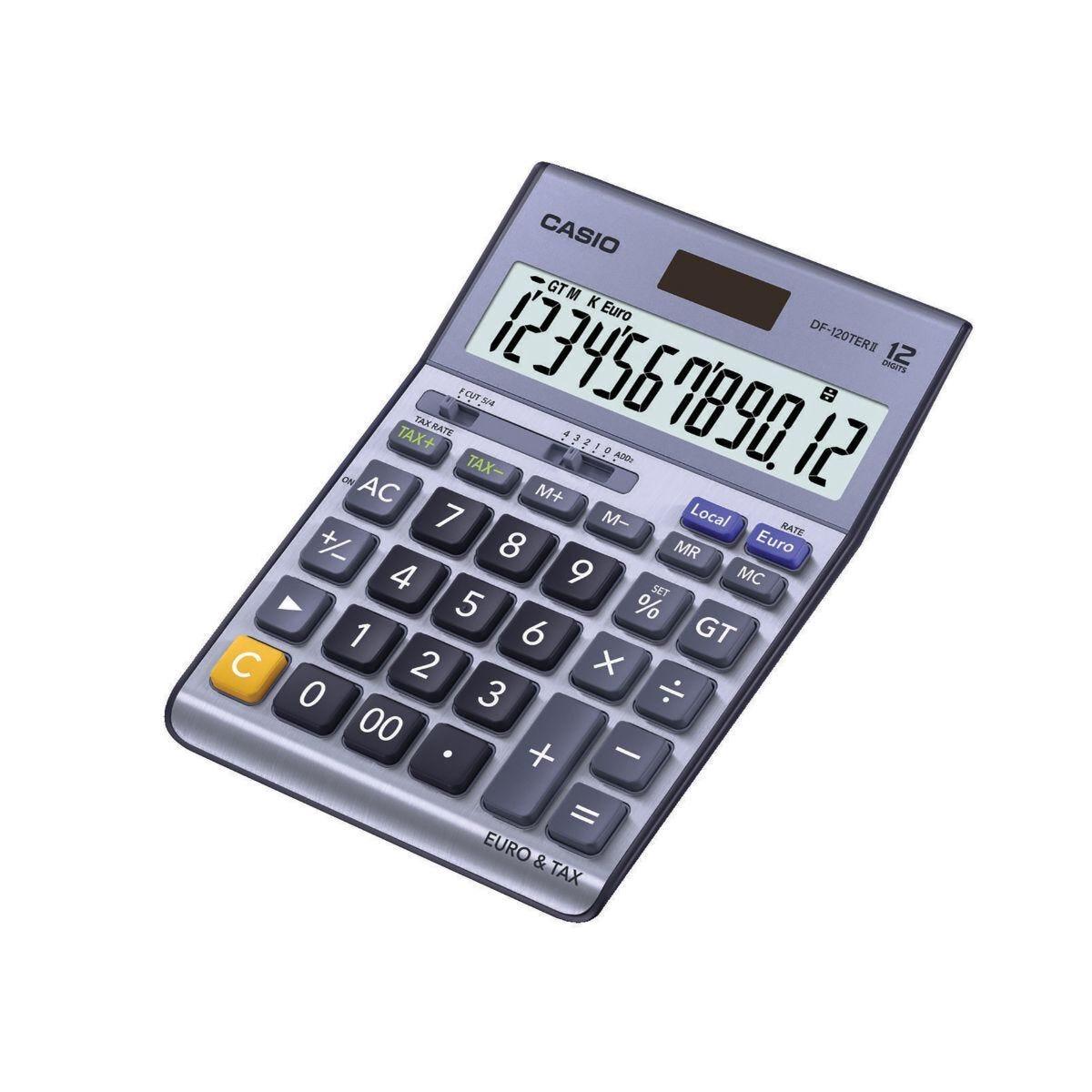 Casio DF-120 TERII Desktop Calculator