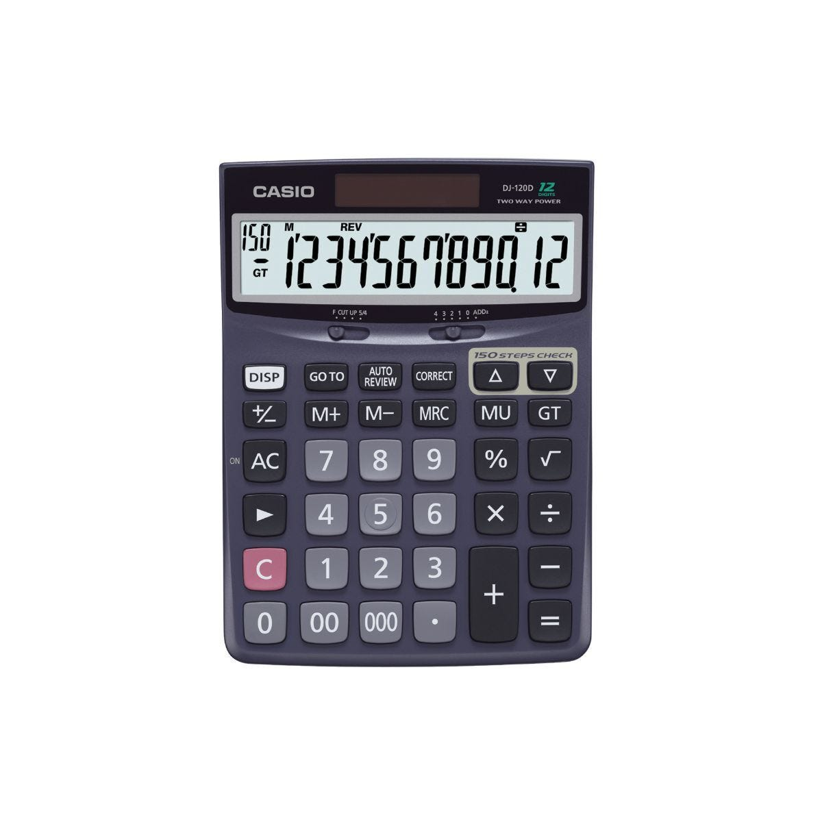 Casio DJ-120D-S-EP Desktop Calculator