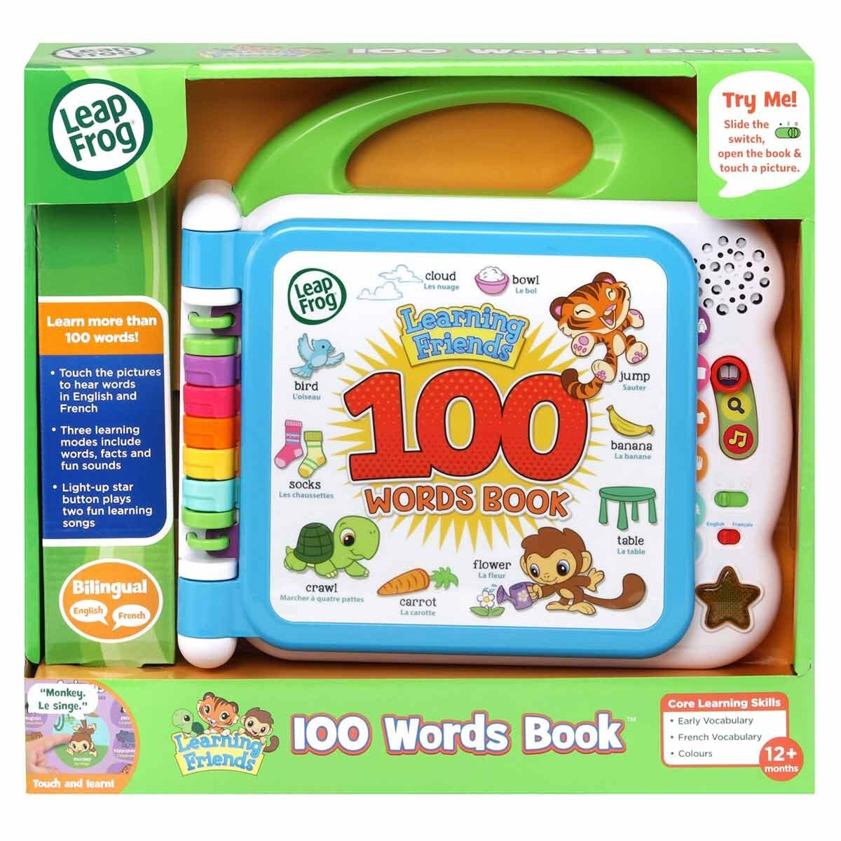 Leapfrog Learning Friends 100 Words Learning Book