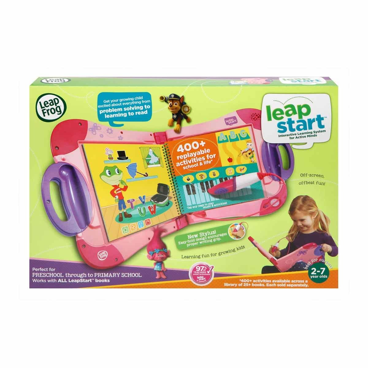 Leapstart Interactive Early Learning System Pink