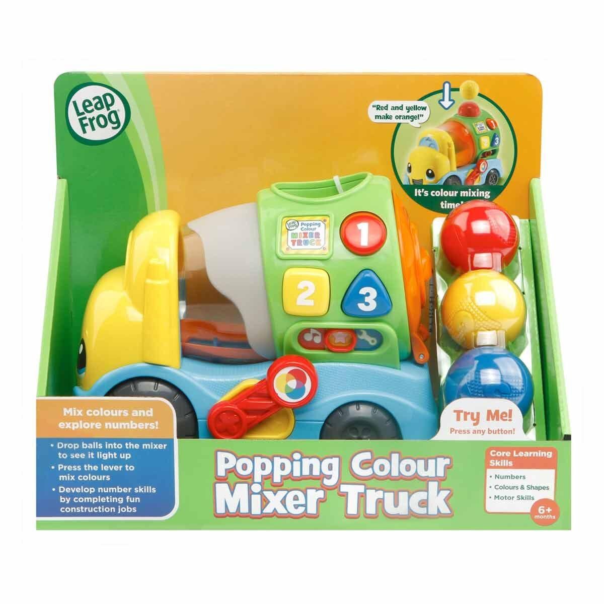 Leapfrog Popping Colour Mixer Truck