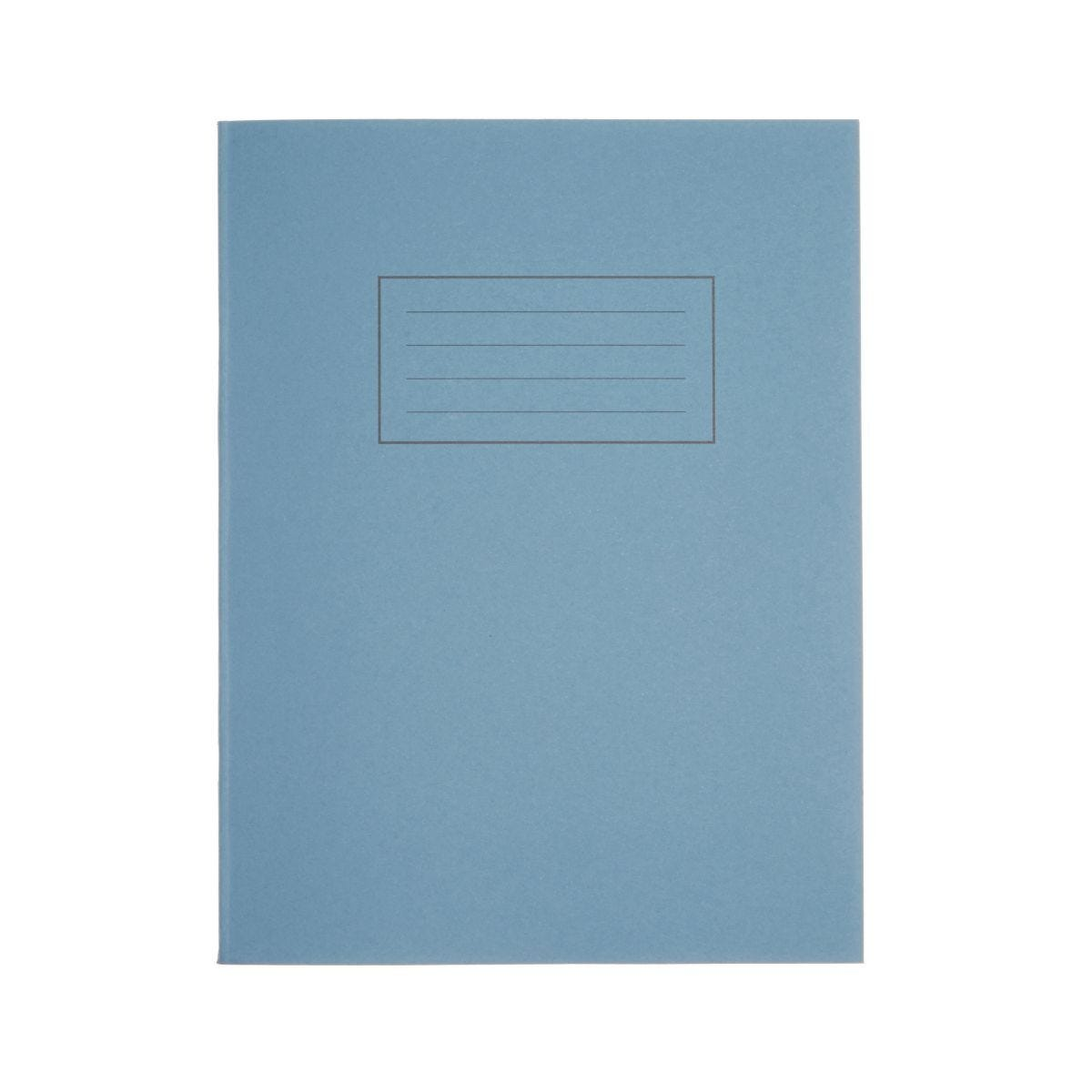 Silvine Exercise Book 9 Inch x 7 Inch 80 Page Ruled 75gsm Blue