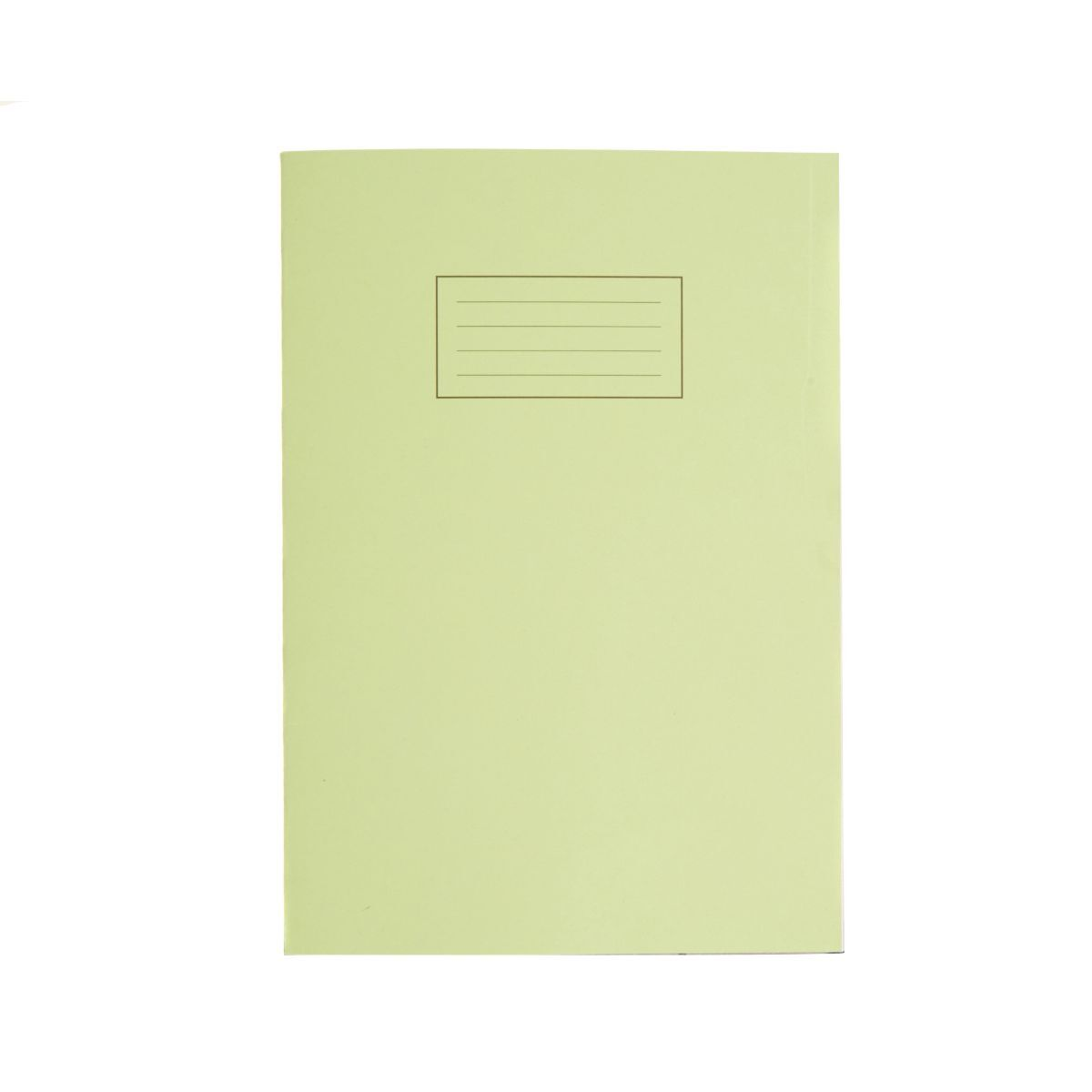 Silvine Exercise Book A4 80pg Ruled 75gsm Green