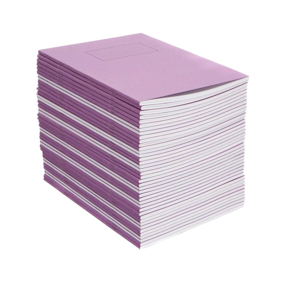 Silvine Exercise Book 9 Inch x 7 Inch Ruled 75gsm Pack of 40