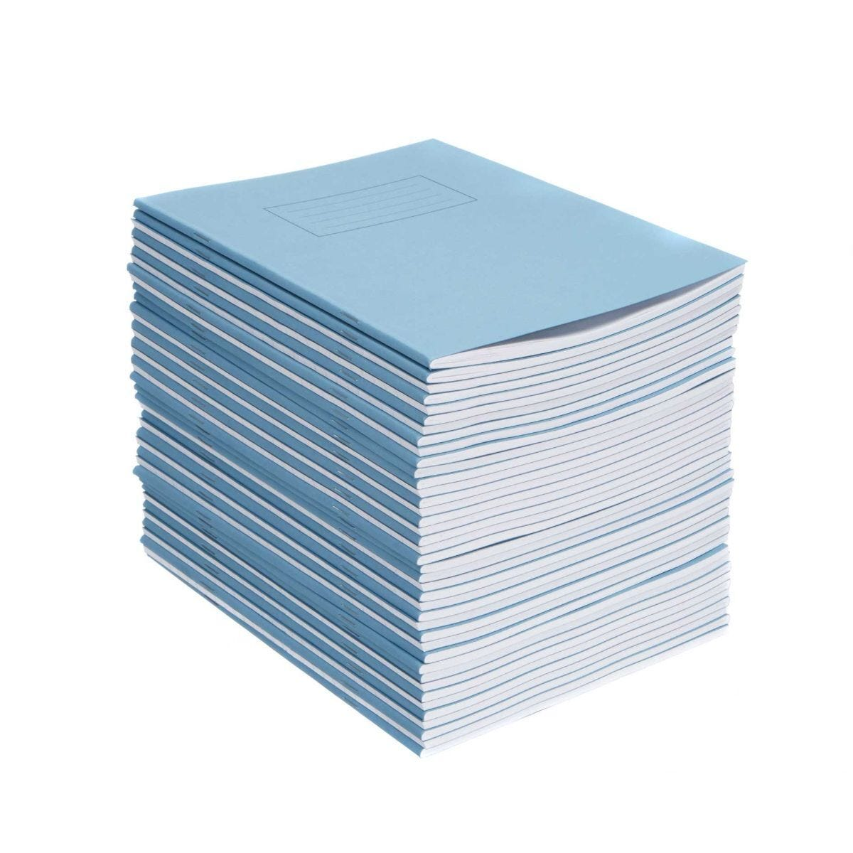 Silvine Exercise Book 9 Inch x 7 Inch Ruled 75gsm Pack of 40 Blue