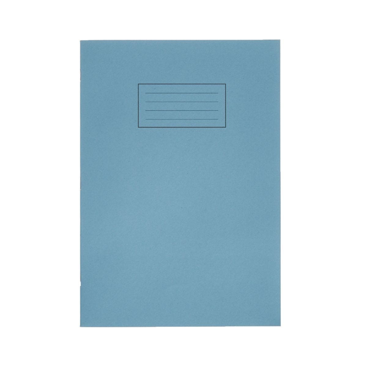 Silvine Exercise Book A4 Ruled 75gsm Pack of 40 Blue