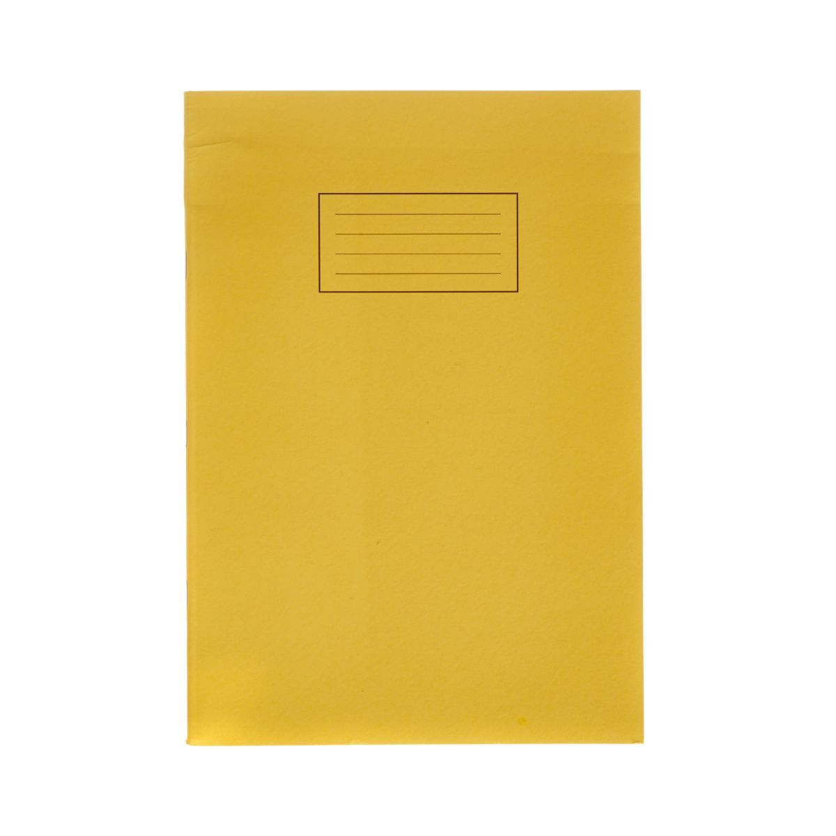 Silvine Exercise Book A4 Ruled 75gsm Pack of 40 Yellow