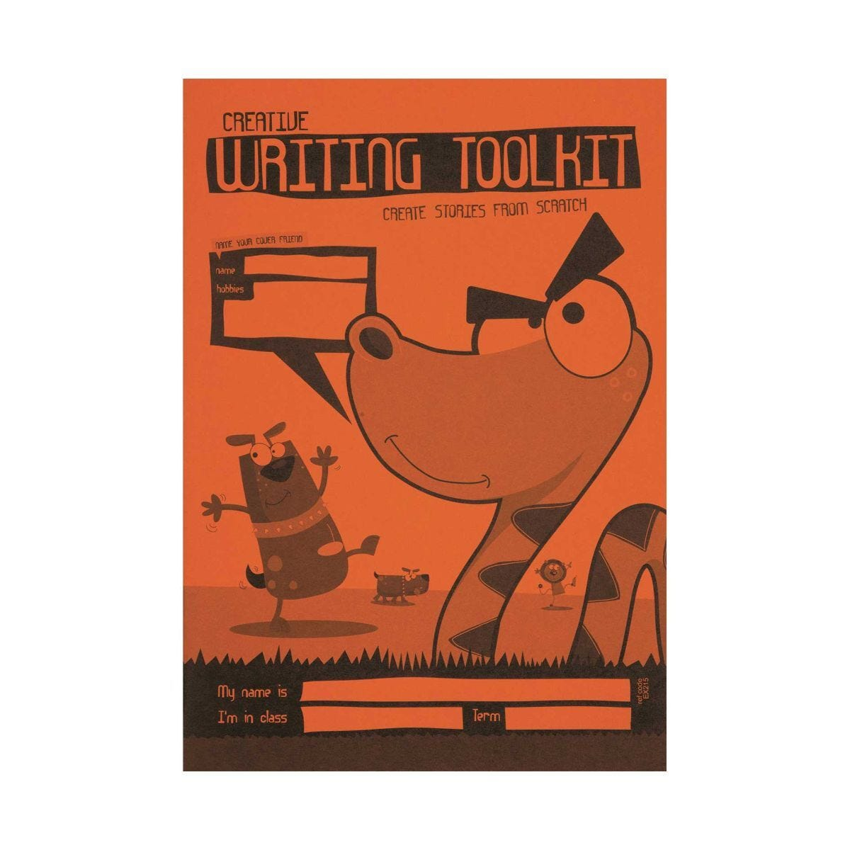 Silvine A5 Creative Writing Toolkit 75 gsm Pack of 30