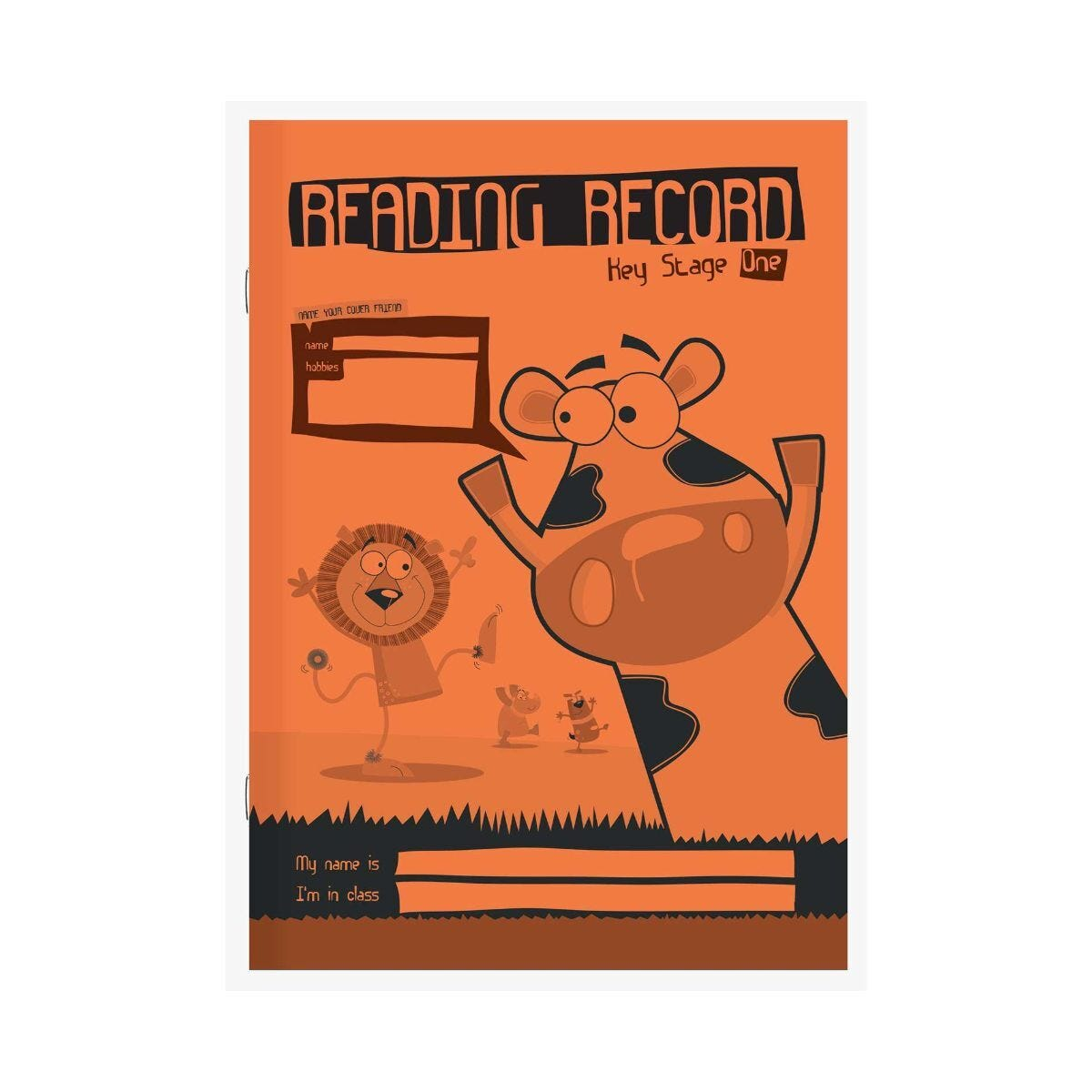 Silvine A5 Reading Record Key Stage 1 75gsm Pack of 30
