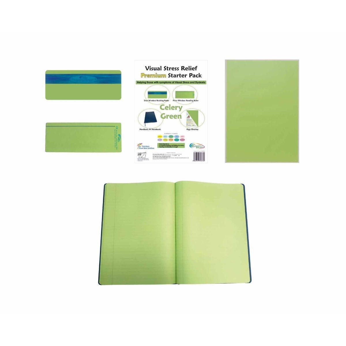 Premium Visual Stress Relief Starter Pack Celery