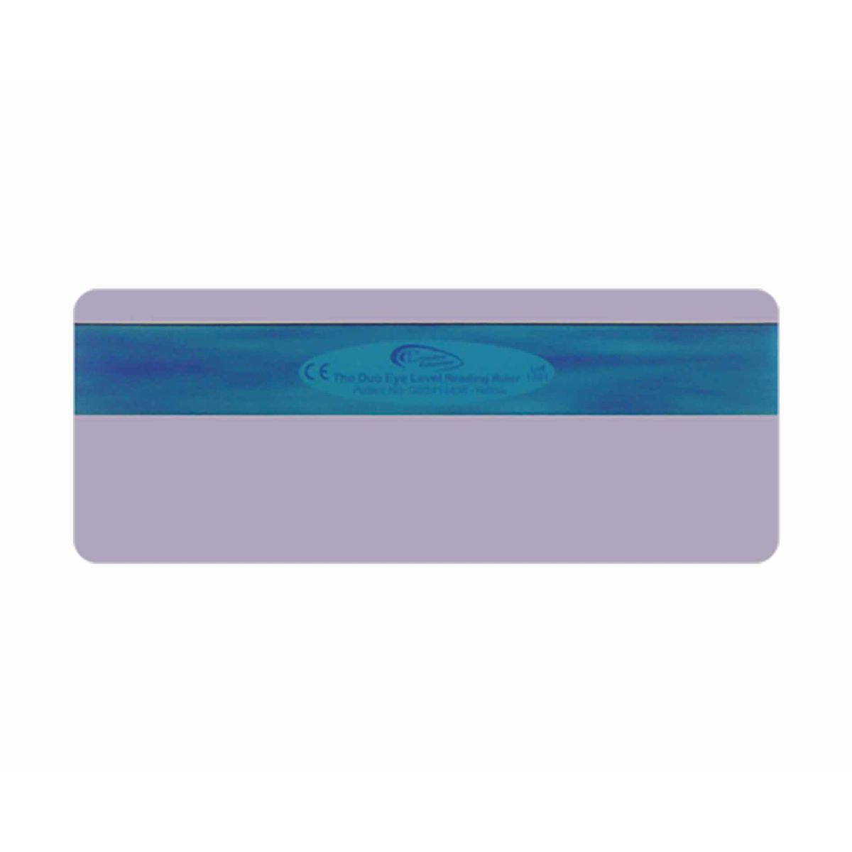 Duo Window Reading Rulers Pack of 2 Purple