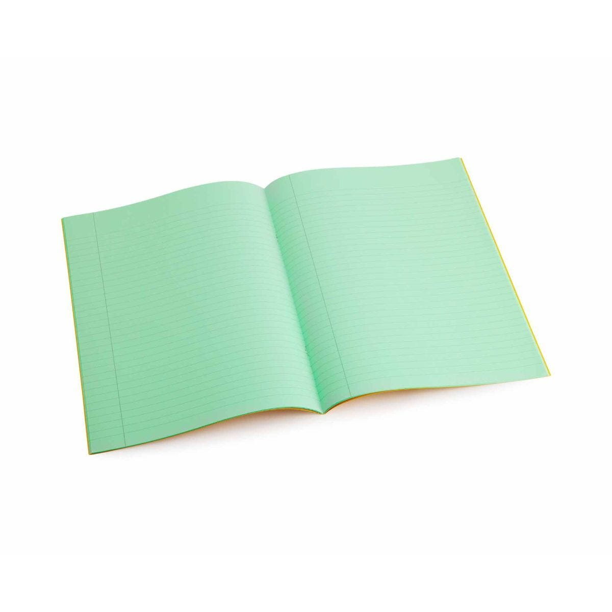 Tinted Exercise Book Lined A4 8mm Apple Green