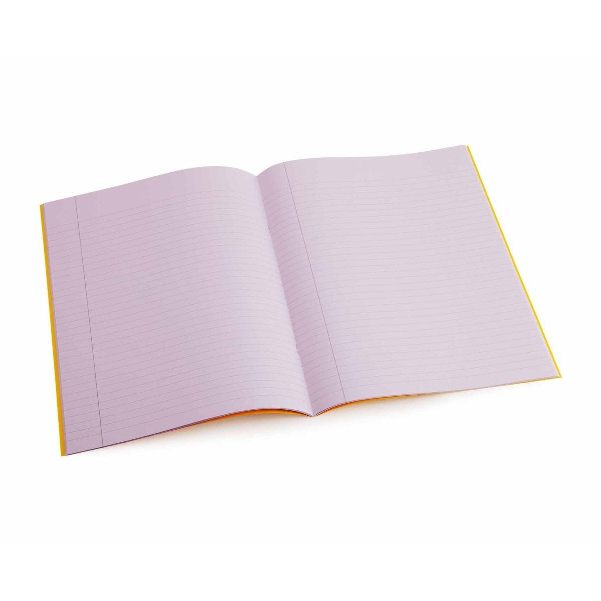 Tinted Exercise Book Lined A4 8mm Purple