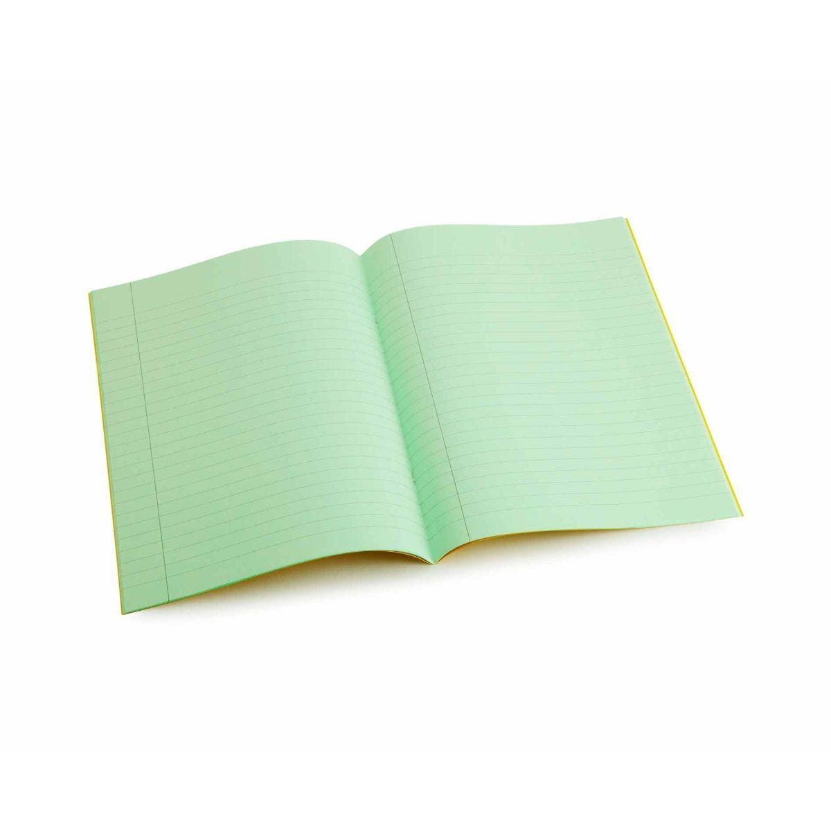 Tinted Exercise Books Lined A4 10mm Leaf Green