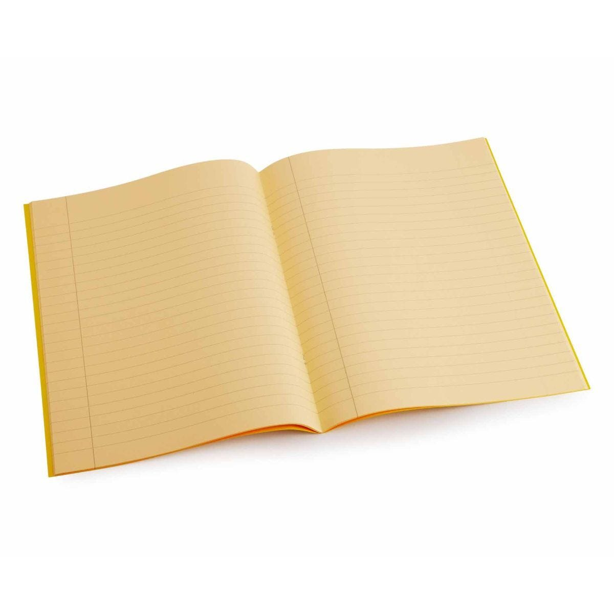 Tinted Exercise Books Lined A4 10mm Orange