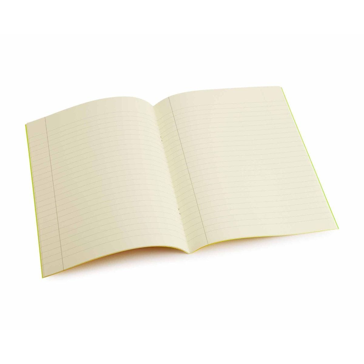 Tinted Exercise Books Lined A4 10mm Cream