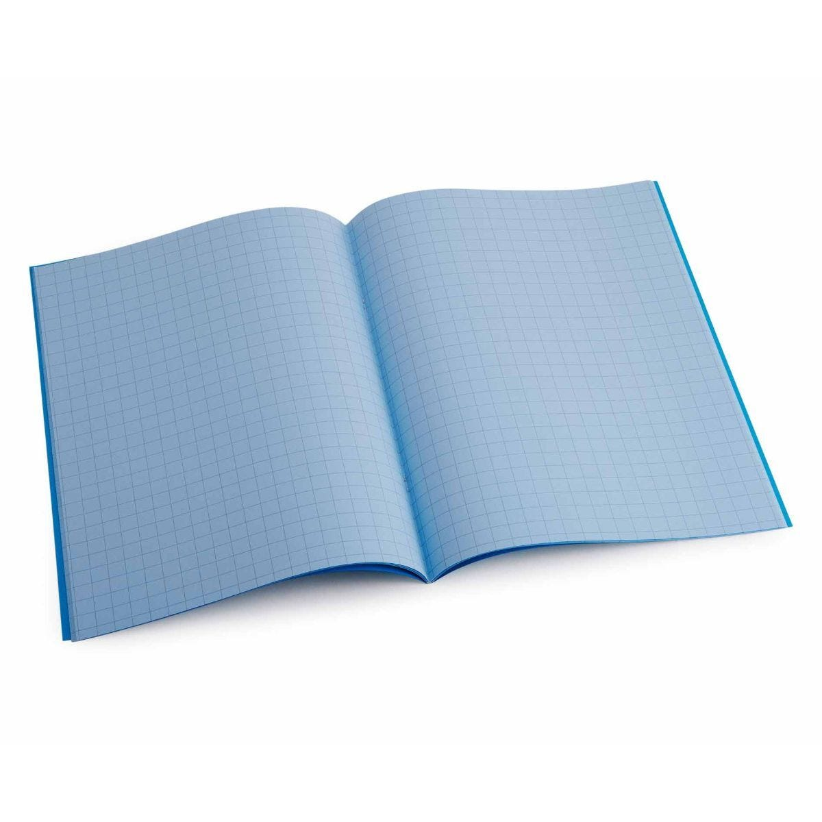 Tinted Exercise Books Squared A4 10mm Sky Blue