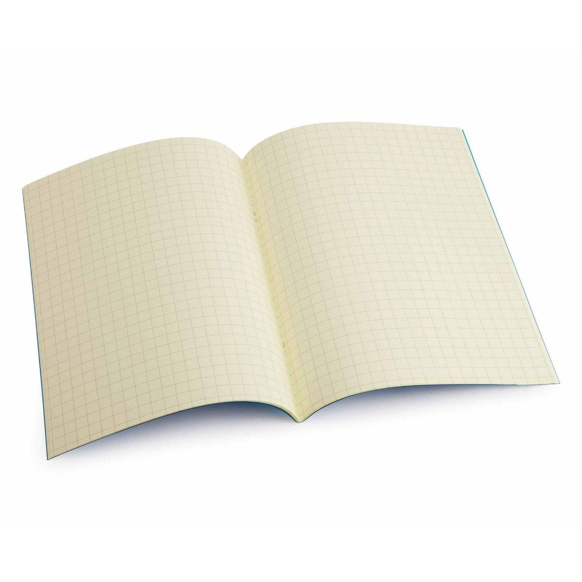 Tinted Exercise Books Squared A4 10mm Cream