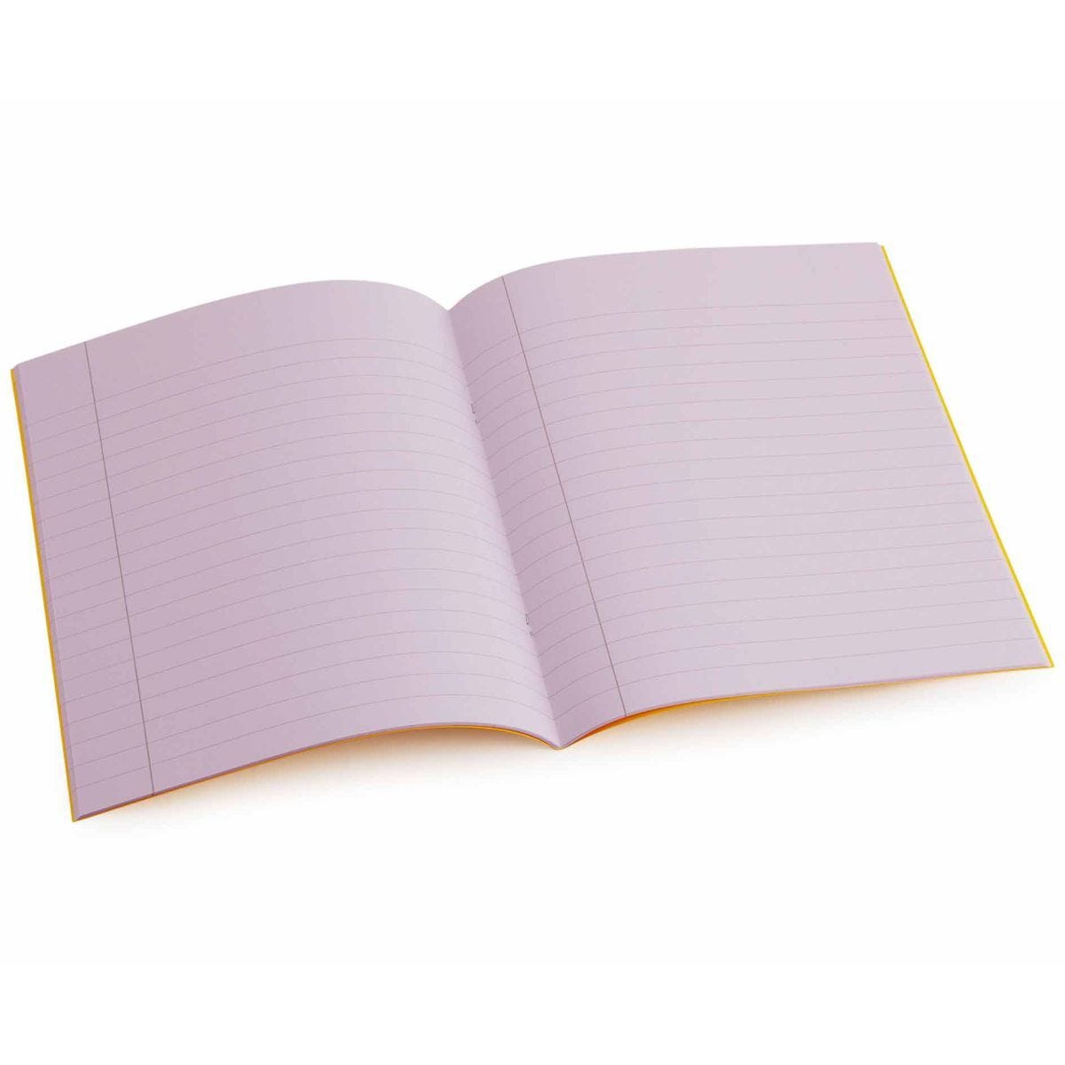 Tinted Exercise Book Standard 7x9 Lined 10mm Purple
