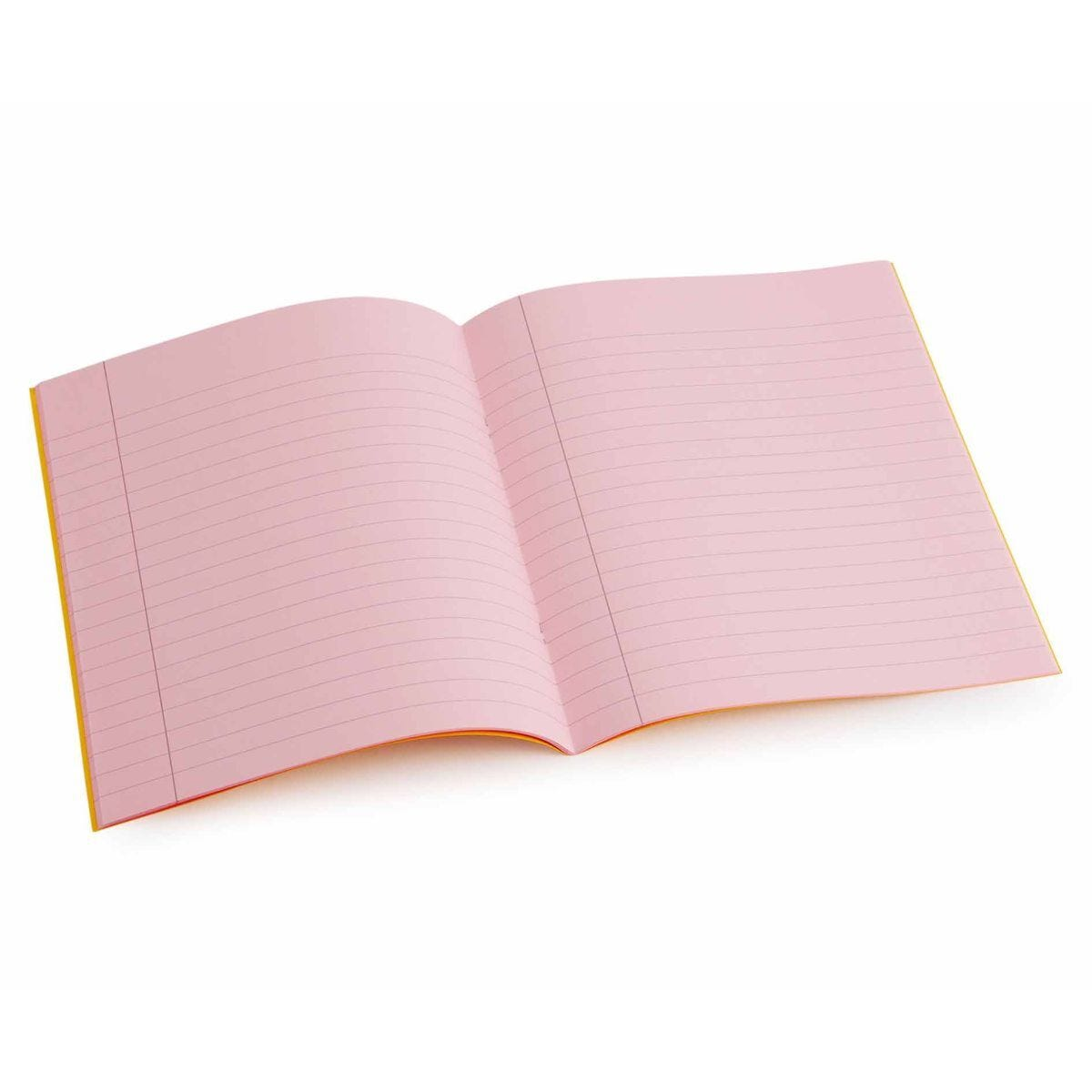 Tinted Exercise Book Standard 7x9 Lined 10mm Rose