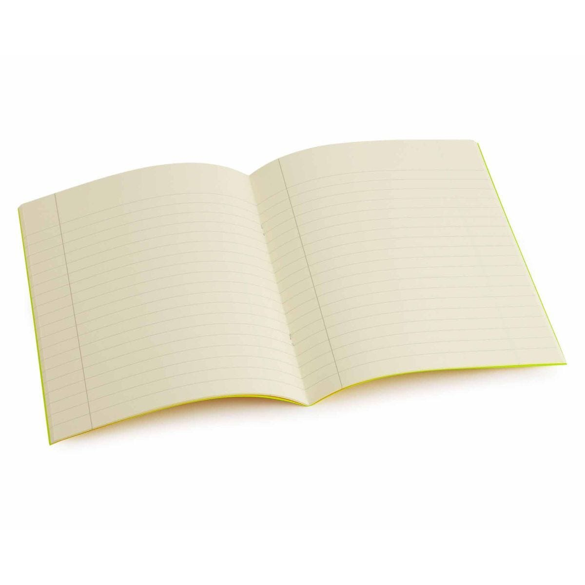 Tinted Exercise Book Standard 7x9 Lined 10mm Cream