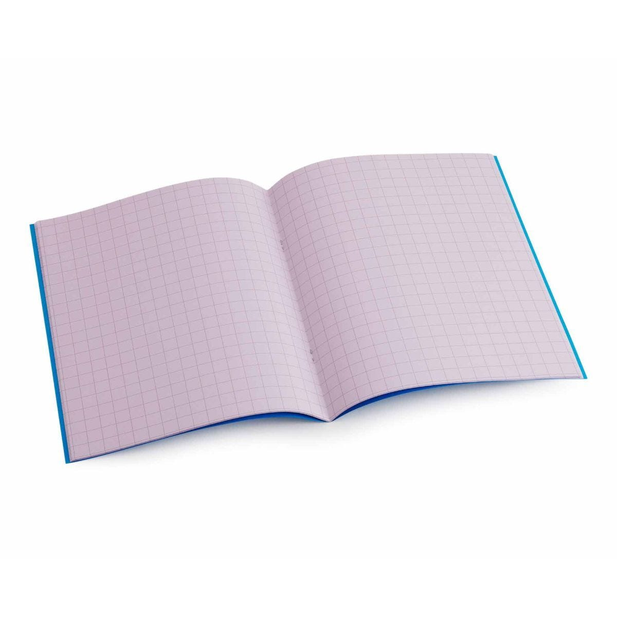Tinted Exercise Book Standard 7x9 Squared 10mm Purple