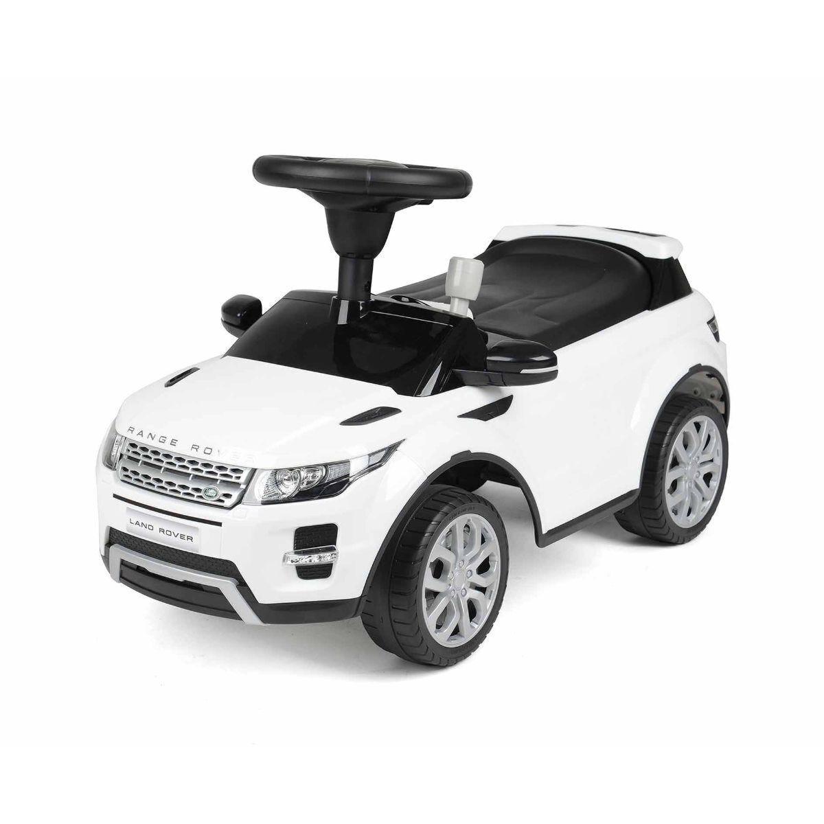 Range Rover Evoque Foot to Floor Ride On Car White