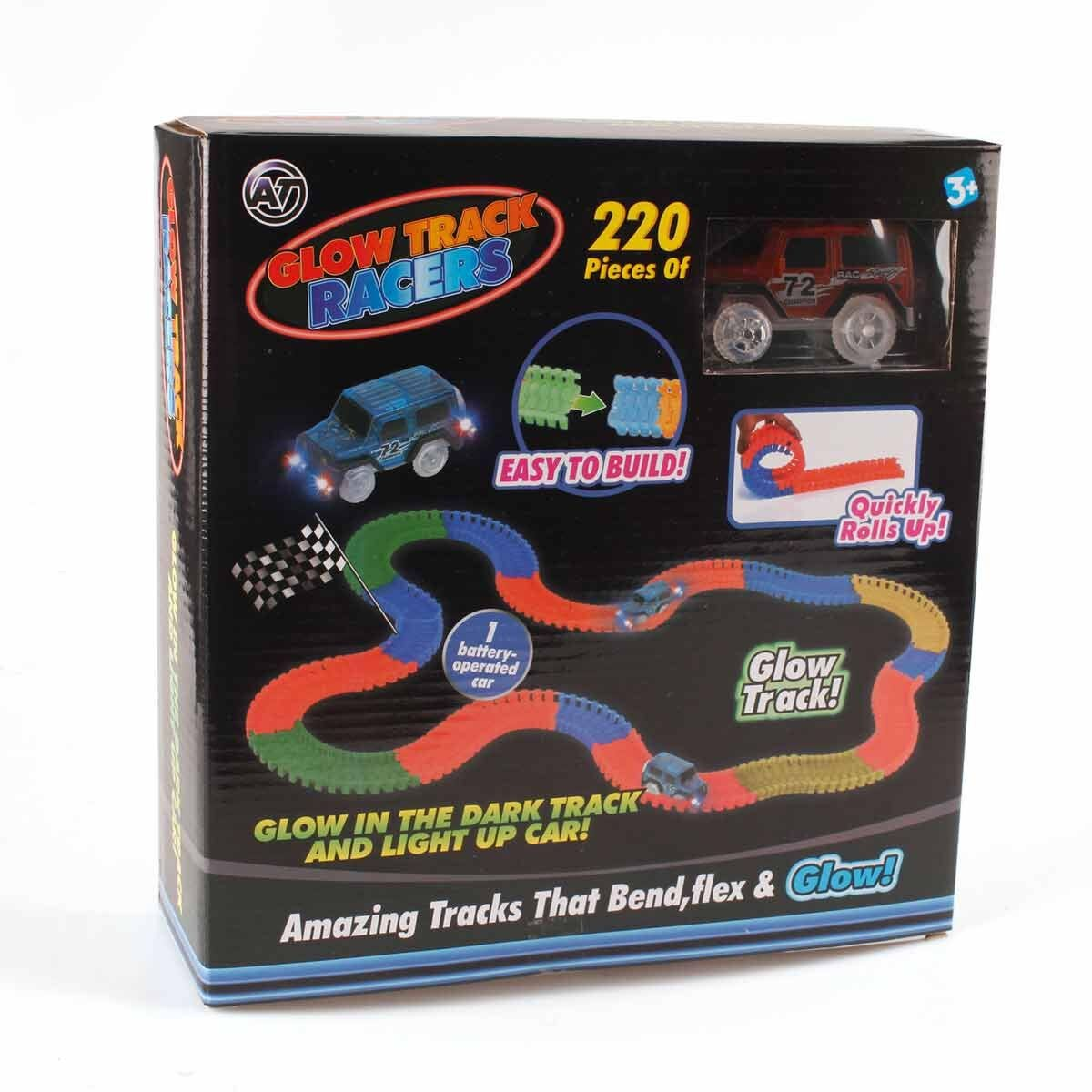 Glow Tracks Racer Set 220 Pcs