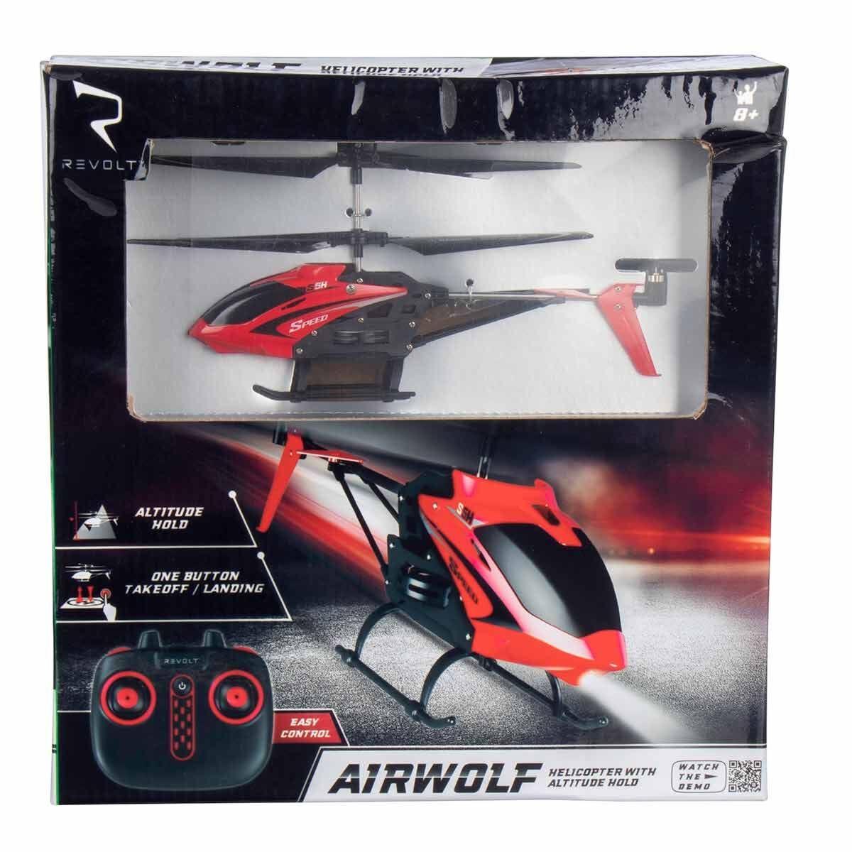 Revolt Airwolf Remote Control Helicopter