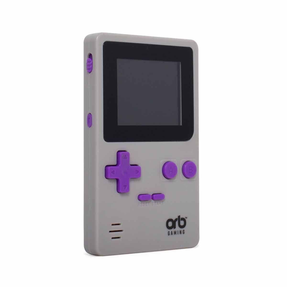Retro Handheld Arcade Game Console Grey