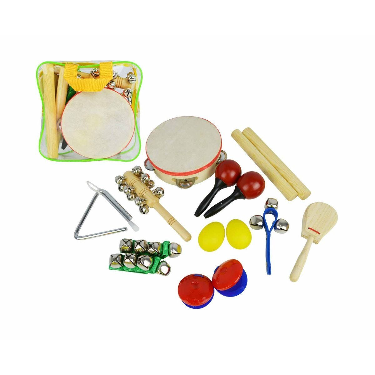 A-Star Handheld Percussion Set 10 Piece