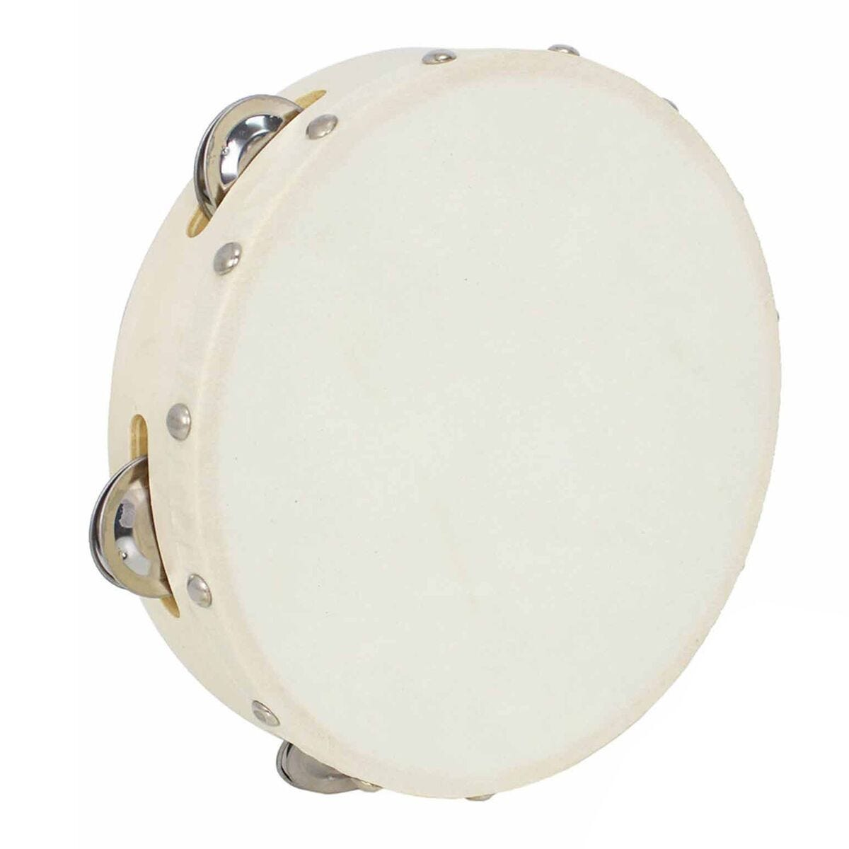 A-Star 8 Inch Tambourine Pack of 10
