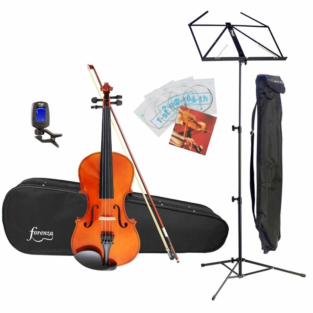 Forenza Uno 1/2 Size Violin Starter Pack