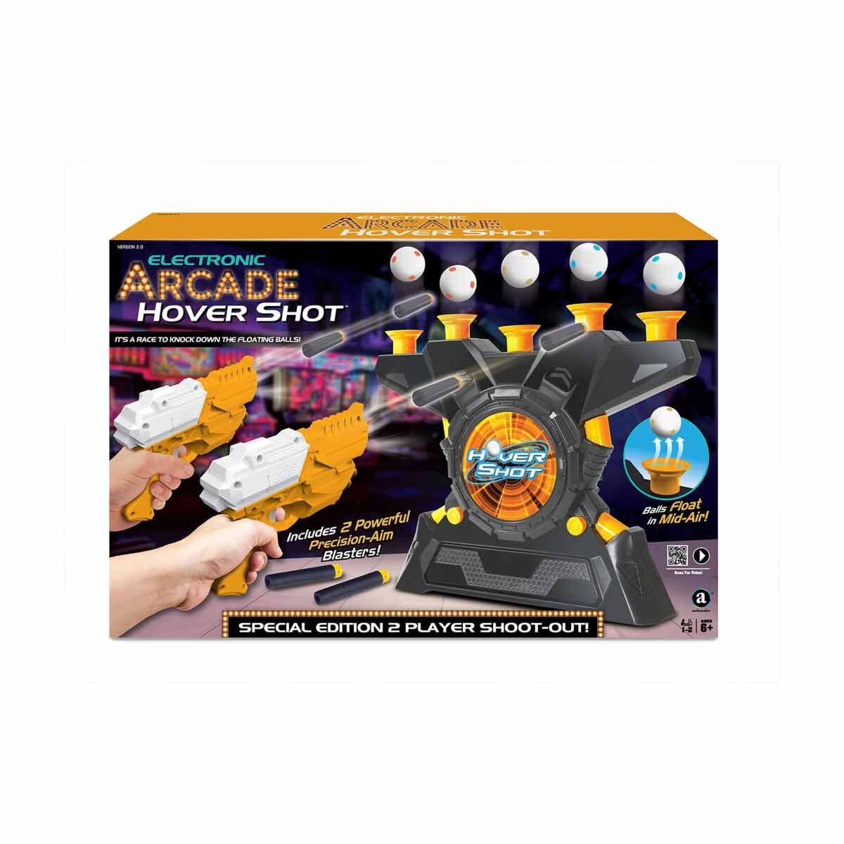 Electronic Arcade Hover Shot 2 Player Special Edition