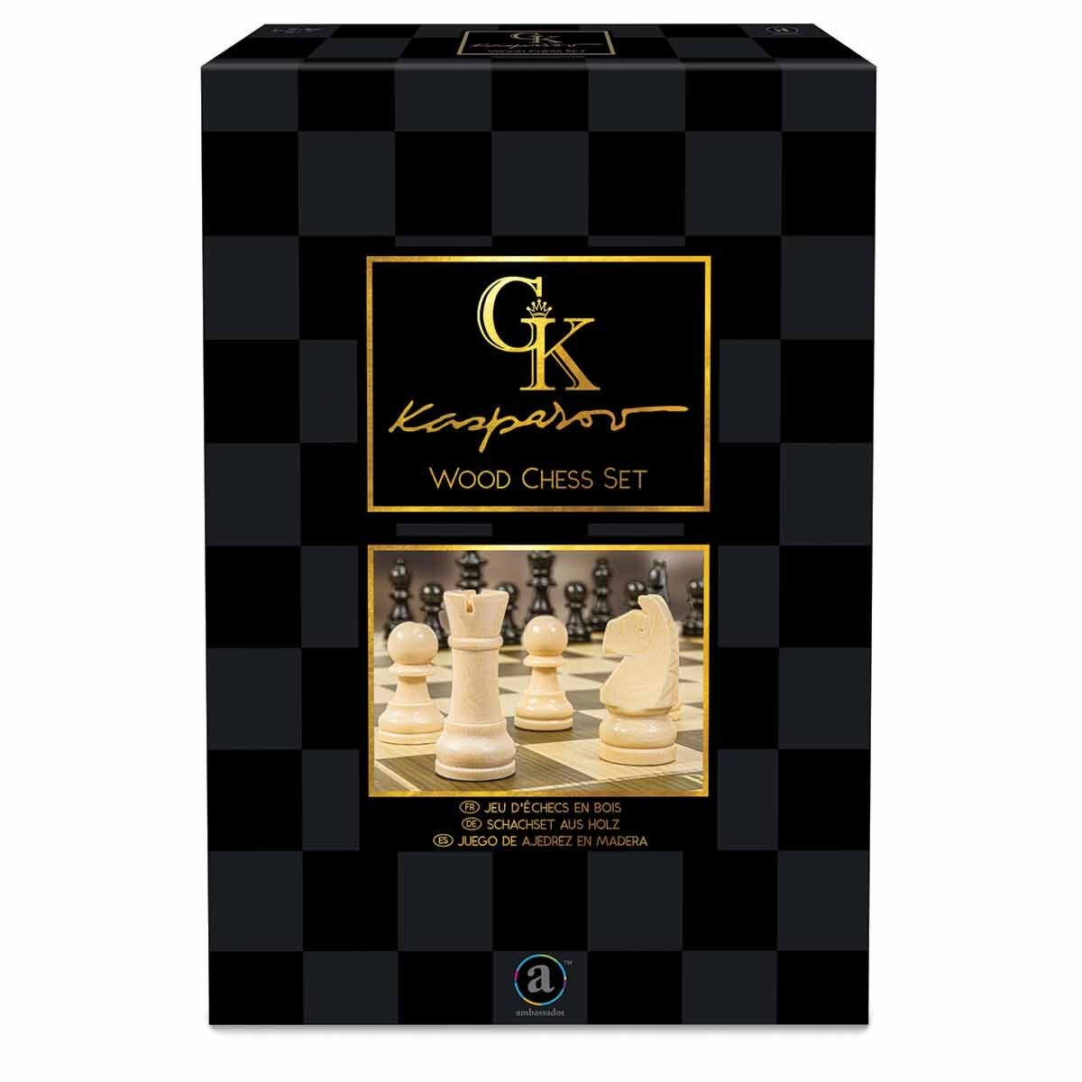 KASPAROV Wood Chess Set